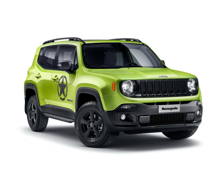 Jeep Renegade Hyper Green by Mopar